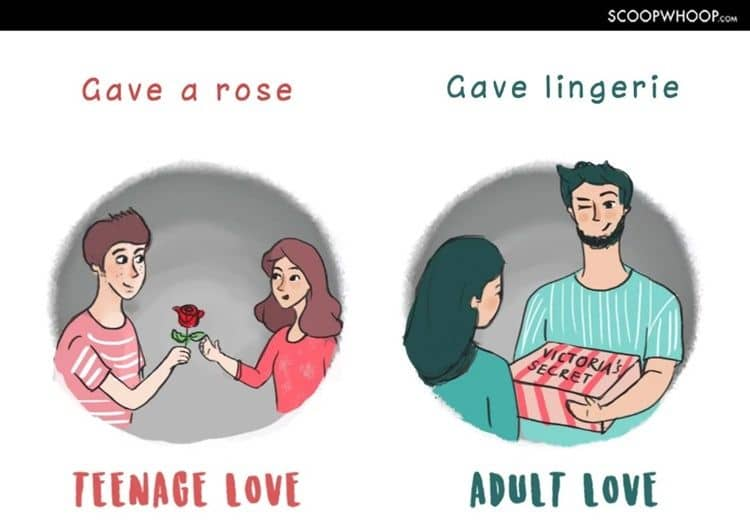 Hadiah saat pacaran ala remaja vs dewasa