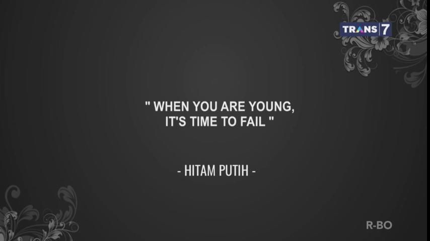 4. Habiskan jatah gagal sewaktu masih muda