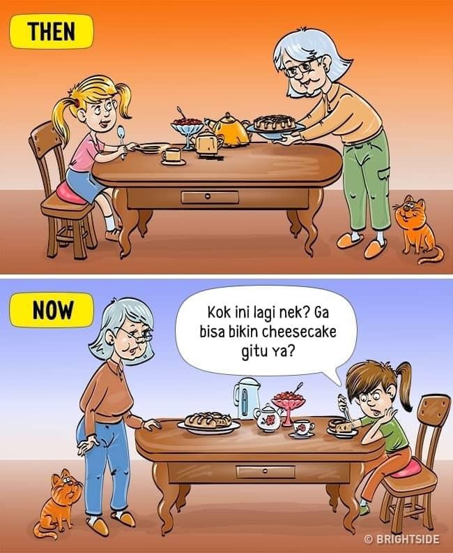 8. Anak zaman now terhipnotis dengan kue kekinian