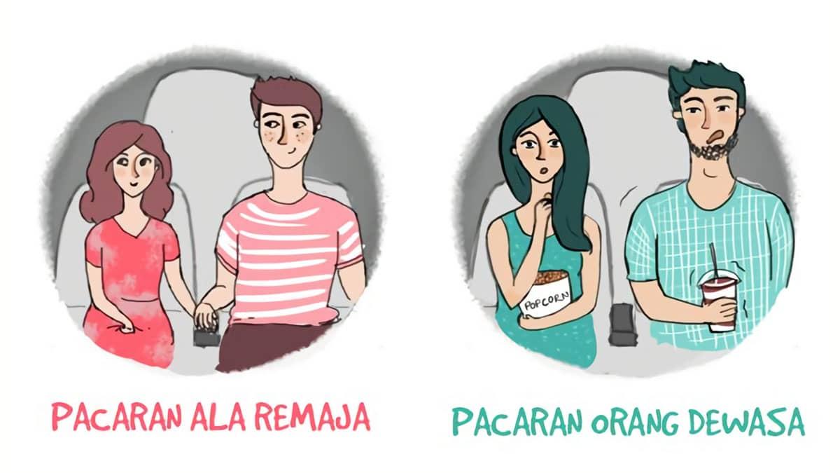 Beda gaya pacaran remaja vs dewasa saat ngedate