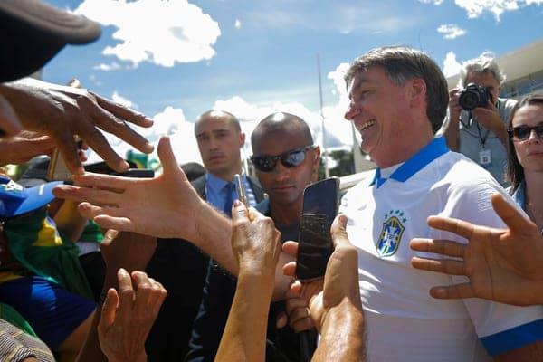 Presiden Brazil turut hadir dalam acara pawai