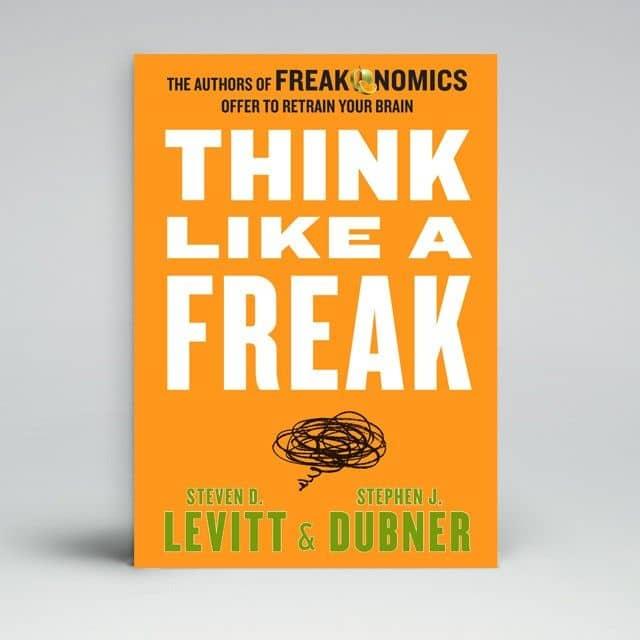 Buku Think Like a Freak