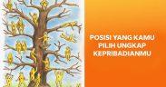 Tes kepribadian : posisi di pohon ungkap kepribadianmu